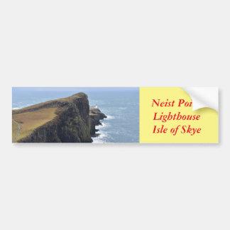 Neist Point Lighthouse Bumper Sticker