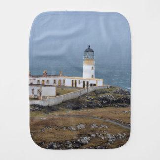 Neist point Lighthouse Burp Cloth