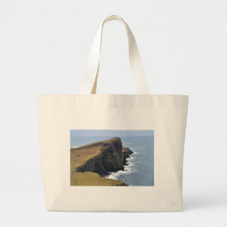Neist Point Lighthouse Large Tote Bag