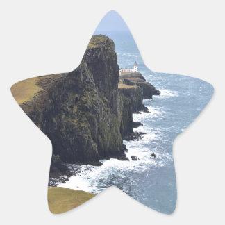 Neist Point Lighthouse Star Sticker