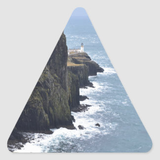 Neist Point Lighthouse Triangle Sticker