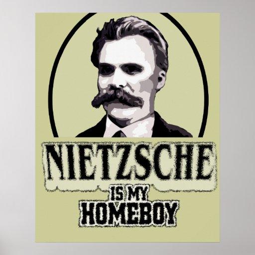 Neitzsche Is My Homeboy Poster