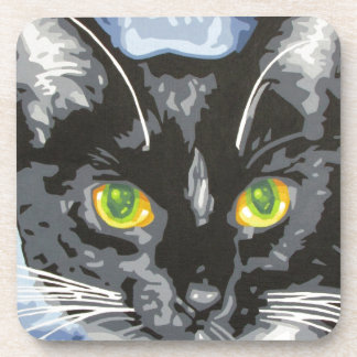 NEKO THE CAT BEVERAGE COASTERS
