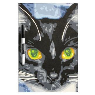 NEKO THE CAT DRY ERASE WHITEBOARD