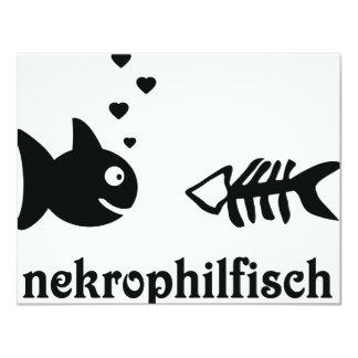 nekrophilfisch icon custom invitation