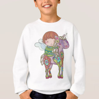 Nelf and its unicorn sweatshirt