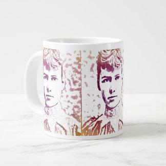 Nellie Bly Pop Art Portrait Giant Coffee Mug