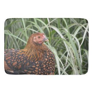 Nellie The Hen Bath Mat