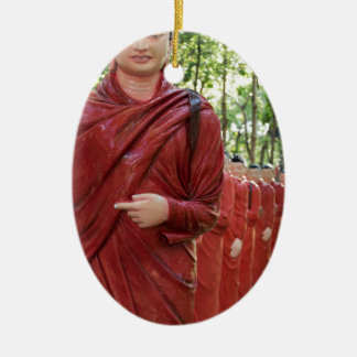 Nellikulama Temple of 500 Arahants, Sri Lanka Ceramic Ornament