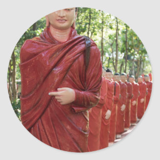 Nellikulama Temple of 500 Arahants, Sri Lanka Classic Round Sticker