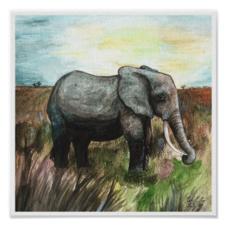 Nelly the Elephant Poster