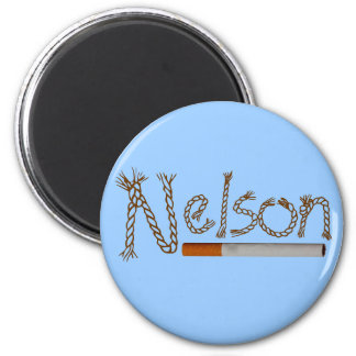 Nelson Cigarettes Magnet
