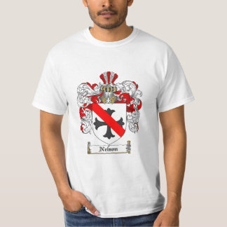 Nelson Family Crest - Nelson Coat of Arms T-Shirt