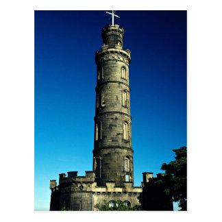 Nelson Monument, Calton Hill, Edinburgh, Scotland Postcard
