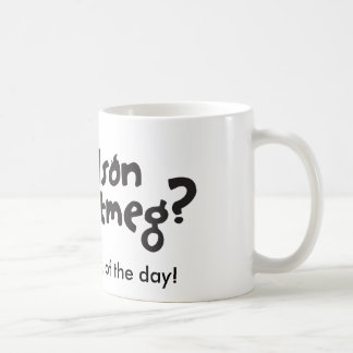Nelson Nutmug Coffee Mug