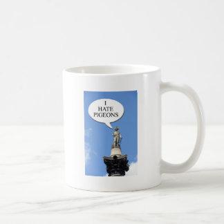 """Nelson says """"I hate pigeons"""" Coffee Mug"""