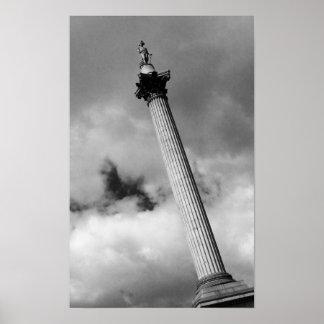 Nelson's Column Poster