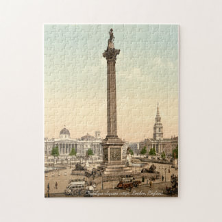 Nelson's Column, Trafalgar Square London Jigsaw Jigsaw Puzzle