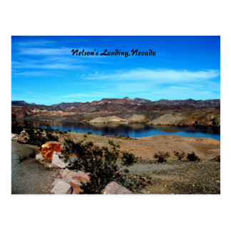 Nelson's Landing,Nevada Postcard