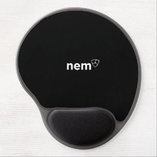 < Nem >black gel mouse propellant-actuated device Gel Mouse Pad
