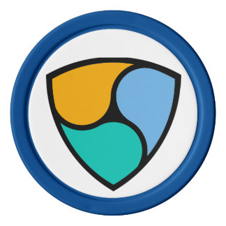 NEM Cryptocurrency Clay Poker Chip