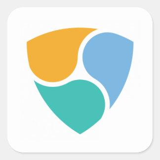 Nem Logo Square Sticker