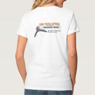 Nema front/zazzle back tee shirts