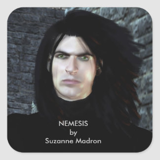 NEMESIS by Suzanne Madron Square Sticker
