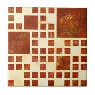Nemissos V1 - painted squares Ceramic Tiles