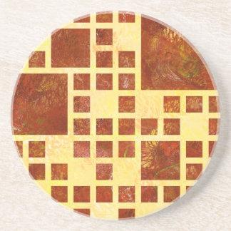 Nemissos V1 - painted squares Coasters