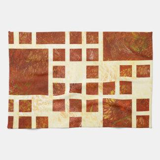 Nemissos V1 - painted squares Kitchen Towel