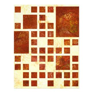 Nemissos V1 - painted squares Letterhead Template