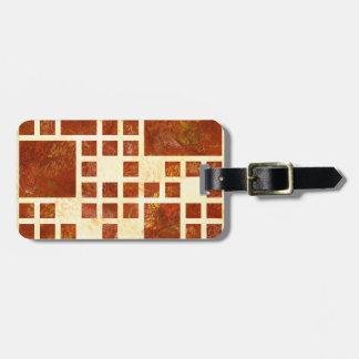 Nemissos V1 - painted squares Luggage Tag