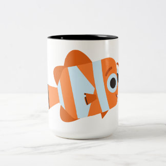 Nemo | Chart Your Own Adventure Two-Tone Coffee Mug