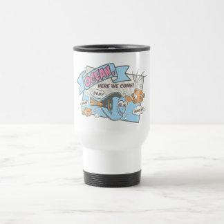 Nemo, Dory & Marlin | Ocean Here we Come Travel Mug