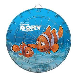 Nemo & Marlin Dart Board