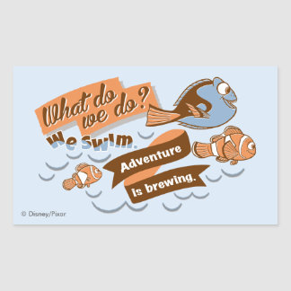 Nemo, Marlin & Dory | Adventure is Brewing Sticker