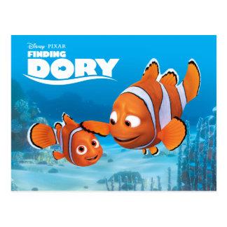 Nemo & Marlin Postcard