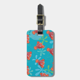 Nemo Teal Pattern Luggage Tag