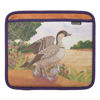 Nene (Hawaiian Goose) iPad Sleeve