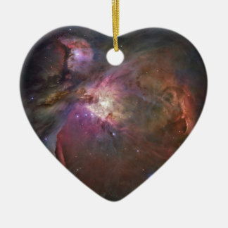 Nénuleuse d' Orion Ceramic Heart Ornament