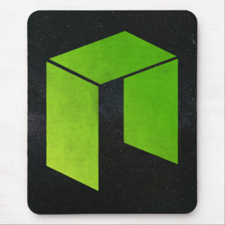 Neo Crypto Coin Mouse Pad