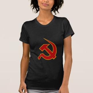 Neo Dark Red & Yellow Hammer & Sickle T Shirt