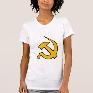 Neo Dark Yellow & Black Hammer & Sickle Shirts
