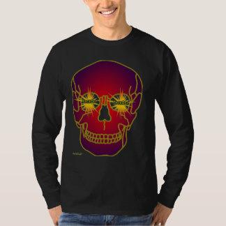 neo faceoff skull head T-Shirt