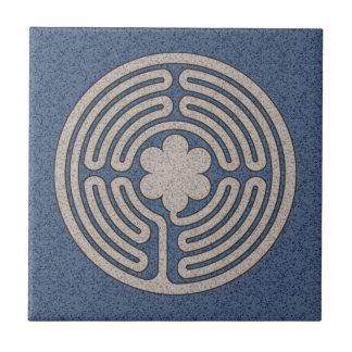 Neo-Medieval Labyrinth Tile