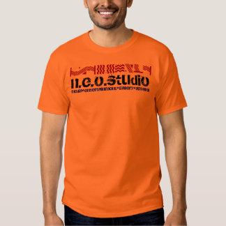 neo orange tee shirt