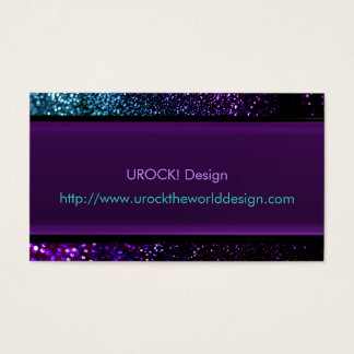 Neo Psychedelic Evolutionary Free Expressionism Business Card
