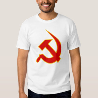 Neo Red & Yellow Hammer & Sickle Tees