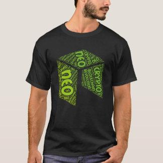 NEO Revolution Blockchain Crypto Word Shirt